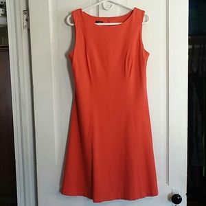 Talbots Coral Dress Size 10P ☄LIKE NEW☄